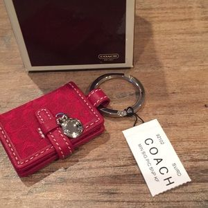 Coach picture frame key chain